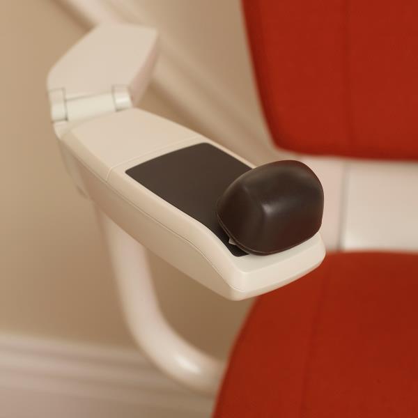 Commande avec joystick ergonomique