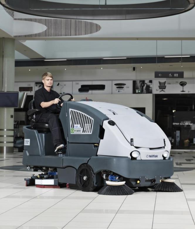 Machines de nettoyage professionnelles