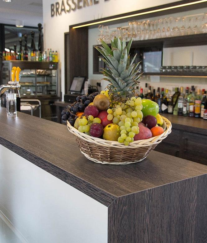 Toujours des fruits frâiches pour jus pressé à la minute