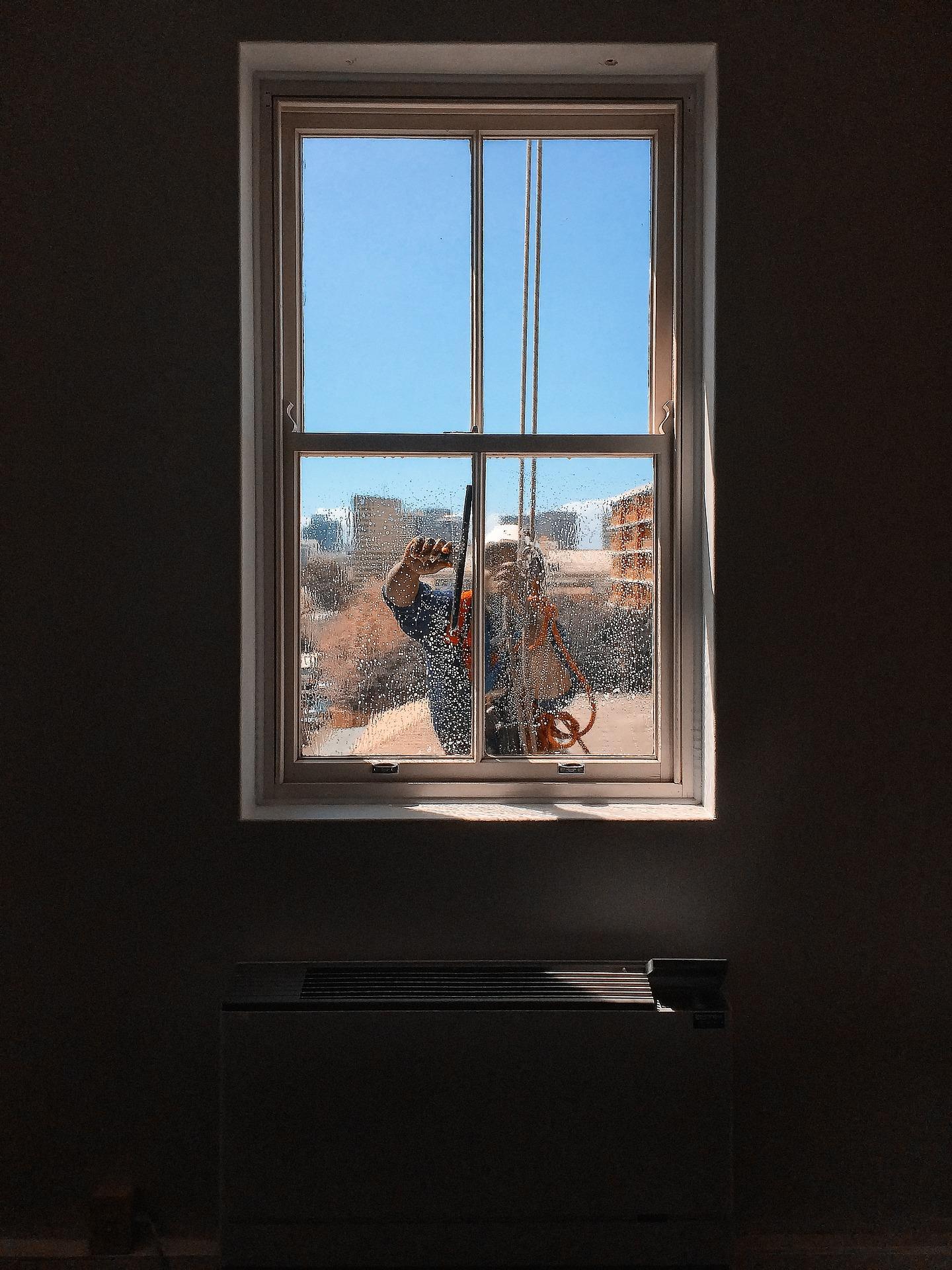 nettoyage des vitres à accès difficiles