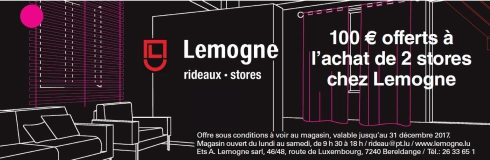 Lemogne Rideaux - Stores - Marquises