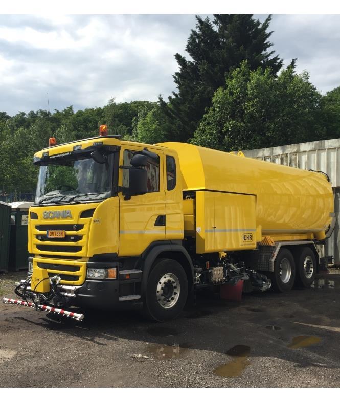 Lavage haute pression des routes - Vialysse Luxembourg