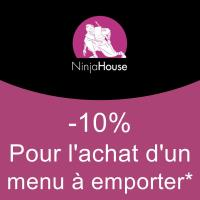 10% Sur le menu à emporter pour Nos 2 Restaurant